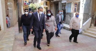 """تطوير ورصف عدد من شوارع حي غرب الفرعية بـ """" الإنترلوك """" بمحافظة سوهاج"""