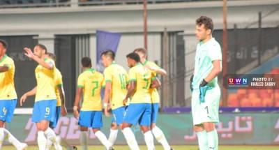 الشوط الأول| البرازيل تتقدم علي الفراعنة بهدف رائع (صور)