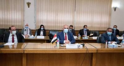 """""""عبد العاطي"""" و""""كلود"""" يبحثان التعاون الثنائي بين مصر والكونغو الديموقراطية"""