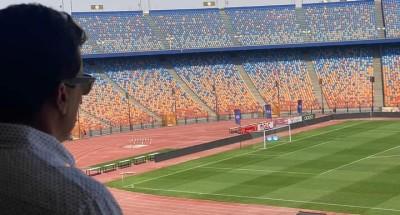 """""""وزير الرياضة"""" يتابع استعدادات إقامة نهائي """"بطولة إفريقيا"""" بإستاد القاهرة"""