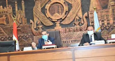 """""""محافظ الغربية"""" يعقد اجتماعاً مع الجهات المشاركة في تنفيذ التدريب العملي صقر ٧٣"""