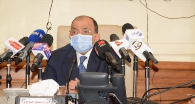 """""""وزير التنمية المحلية"""" يتفقد غرفة عمليات الوزارة لمتابعة سير انتخابات """"مجلس النواب"""""""