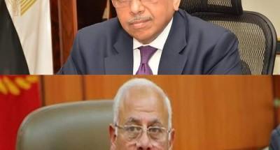 """""""وزير التنمية المحلية"""" يهنئ """"محافظ بورسعيد"""" بجائزة """"التميز الحكومي العربي"""""""
