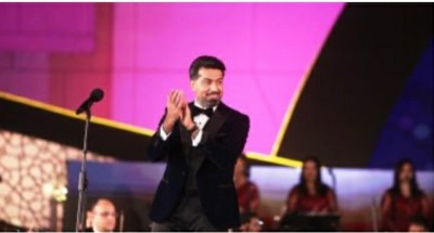 """""""العراقي همام إبراهيم"""" يطرب جمهور «الموسيقى العربية» ب«أغاني العندليب»"""