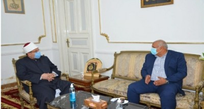 """""""وزير الأوقاف"""" يستقبل """"محافظ الوادي الجديد"""" لبحث مزيد من التعاون بين الوزارة والمحافظة"""