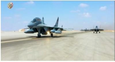 """""""نسور السماء"""".. أحدث أنواع """"المقاتلات الحربية"""" تزين القوات الجوية المصرية"""