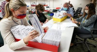 """الانتخابات الأميركية .. ولاية """"جورجيا"""" ستقوم بإعادة فرز الأصوات"""
