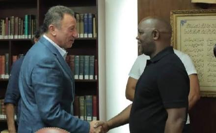 أخبار الرياضة   «الخطيب» يجتمع مع «موسيماني» فى الشيخ زايد