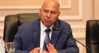 """""""وزير النقل"""" يتفقد أعمال التطوير والتوسعة لطريق القاهرة الإسكندرية الزراعي"""