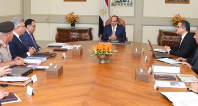 """الرئيس """"السيسي"""" يتابع شبكة الطرق والمحاور على مستوى الجمهورية"""