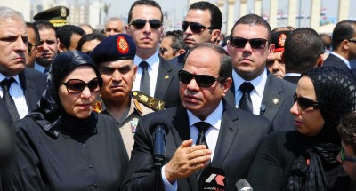 """الرئيس """"السيسي"""" في جولة تفقدية لعدد من المحاور والطرق الجديدة بالقاهرة والجيزة (صور )"""