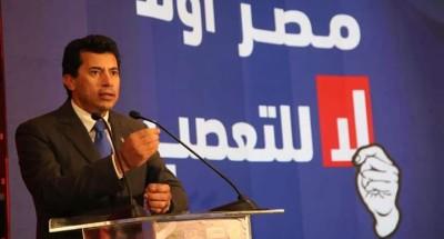 """""""أشرف صبحي"""" :مش هنسيب مؤسسة تنهار ليس انتماءً لمؤسسة بعينها نحن ننتمي لوطن اسمه «مصر»"""