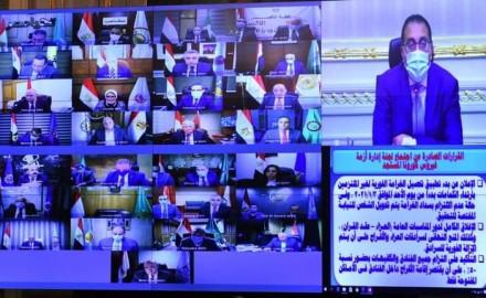 """""""رئيس الوزراء"""" يشدد على الالتزام بتنفيذ قرارات لجنة إدارة أزمة فيروس كورونا"""