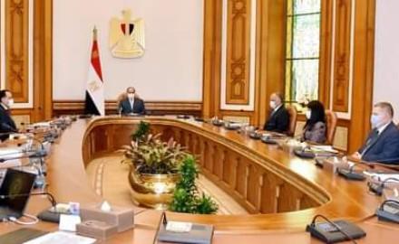 """الرئيس """"السيسي"""" يتابع عمل المنطقة الاقتصادية لقناة السويس وتطور رقمنة النظام المصرفي"""