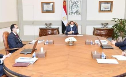 """الرئيس """"السيسي"""" يتابع جهود الدولة لدعم انشطة المشروعات المتوسطة والصغيرة ومتناهية الصغر"""