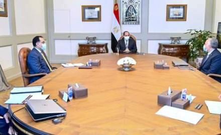"""الرئيس """"السيسي"""" يوجه بالتطوير الشامل لجميع محطات المياه"""