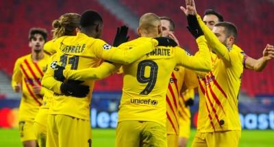 """العلامة الكاملة لـ """"برشلونة"""" .. و""""يوفنتوس"""" يواصل الانتصارات في دوري الأبطال"""