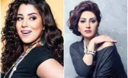 """«وفاء عامر»: """"باستمتع بالعمل مع أيتن أختي.. وهي نجمة ومثقفة"""""""