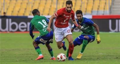 """ثلاثي هجوم يقود """"الأهلي"""" أمام """"مصر المقاصة"""" في الجولة الأولى"""