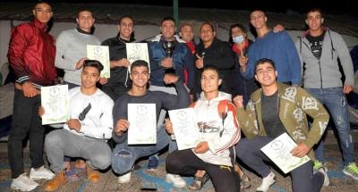 نتائج متميزة لاتحاد الشرطة في بطولة القاهرة لكمال الاجسام