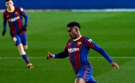 """""""برشلونة"""" يتعادل مع """"إيبار"""" ويواصل اضاعته للنقاط"""
