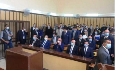 """""""وزير العدل"""" يفتتح مع """"محافظ بورسعيد"""" أعمال تطوير مبنى محكمة بورسعيد الابتدائية"""