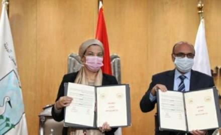 """وزيرا """"البيئة"""" و""""العدل"""" يوقعان برتوكول لدعم قدرات وتدريب الكوادر البشرية لحماية البيئة"""