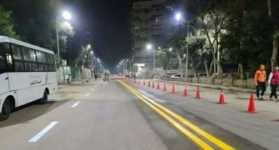 محافظ الجيزة : غلق جزئي لطريق الواحات و تقاطعه مع طريق وصلة دهشور الشمالية من الاتجاهين