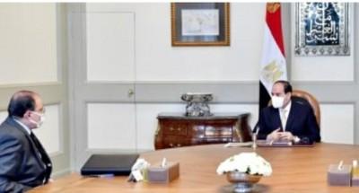 """الرئيس """"السيسي"""" يتابع المخطط التنفيذي للمشروع القومي لتطوير 1000 قرية"""
