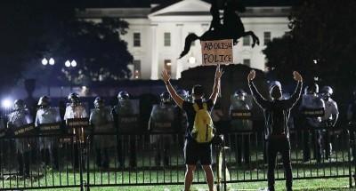 عاجل| فرض حظر تجوال في العاصمة واشنطن
