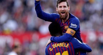 ميسي يتصدر ترتيب هدافي الدوري الإسباني