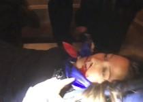 الولايات المتحدة .. إصابة امرأة بالرصاص داخل الكونغرس (فيديو)