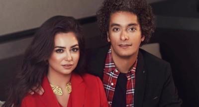 """""""هبة مجدي"""" برفقة زوجها في جلسة تصوير جديدة"""