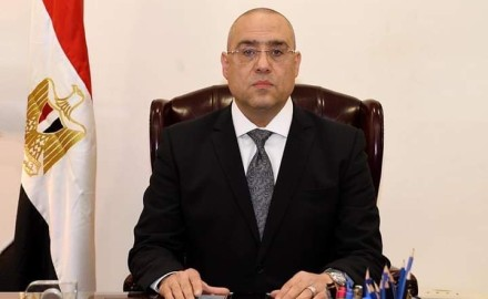 """""""وزير الإسكان"""" يتابع الموقف التنفيذي للمشروعات المختلفة بمدينة العلمين الجديدة"""