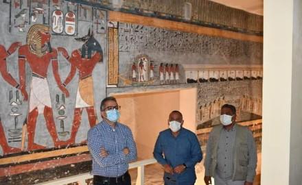 """إعادة افتتاح مقبرة """"رمسيس الأول"""" بعد ترميمها"""