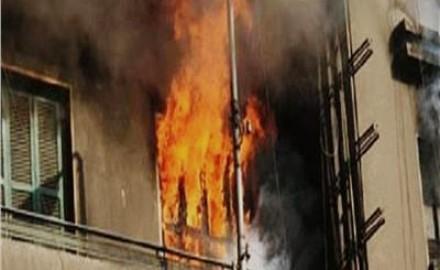مصرع ٣ أطفال فى حريق منزل بكفر الدوار