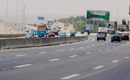 المرور تعيد فتح طريق بلبيس بعد وضوح الرؤية