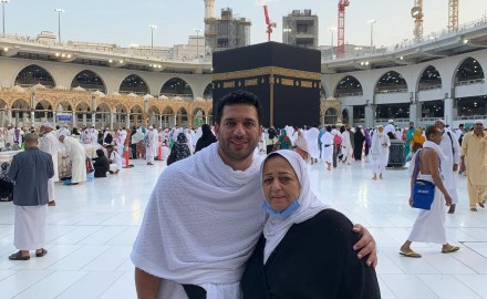 """تفاصيل الساعات الأخيرة في حياة والدة """"حسن الرداد"""""""