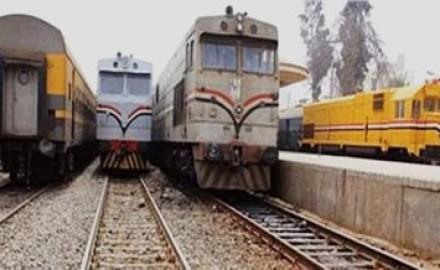 """""""السكة الحديد"""" تعتذر عن تأخير القطارات اليوم"""