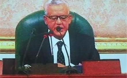 """""""الجبالي"""" : الرئيس السيسي وحد الشعب في مواجهة الإرهاب"""