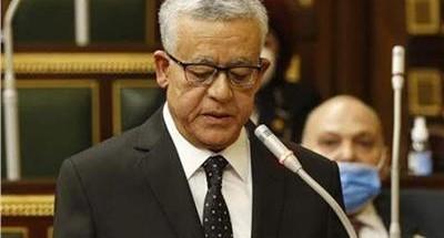 رئيس مجلس النواب يفتتح الجلسة العامة للبرلمان لعرض الاعتراضات