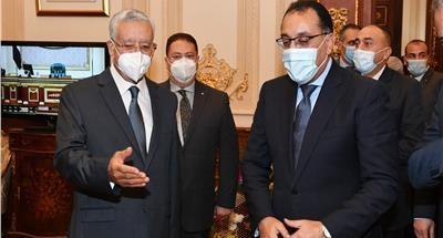 «مدبولى» يهنئ المستشار حنفي جبالي رئيس مجلس النواب