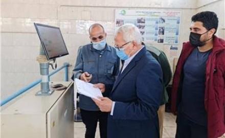 رئيس مياه المنوفية يتفقد محطات شبين الكوم