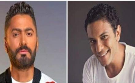 """أغنية جديدة تجمع """"تامر حسني"""" و""""آسر ياسين"""""""