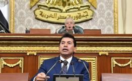 """""""كريم السادات"""" ينتقد اداء وزير الشباب تحت قبة البرلمان"""