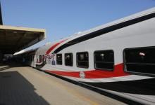 انتظام حركة قطارات خط الصعيد بعد إخماد أدخنة قطار أبو النمرس