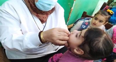 الصحة تقرر مد العمل في حملة التطعيم ضد شلل الأطفال لـ 2 أبريل