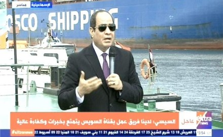 السيسي:محدش هيقدر يقرب من مياه مصر … ورد الفعل سيؤدي إلى عدم استقرار المنطقة