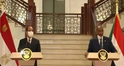 فيديو| البرهان: مصر هي السند الحقيقي للسودان