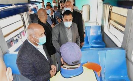 """وزير النقل """"الفريق كامل الوزير"""" يتوجه إلى المنيا للقاء سائقي قطارات الصعيد"""
